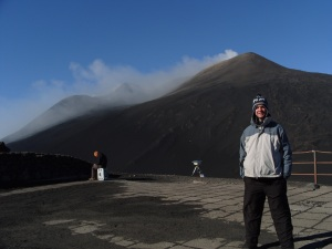 Me at the North-East Crater of Mt. Etna