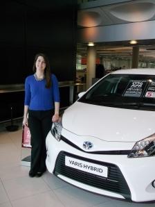 Katherine Shill at Toyota