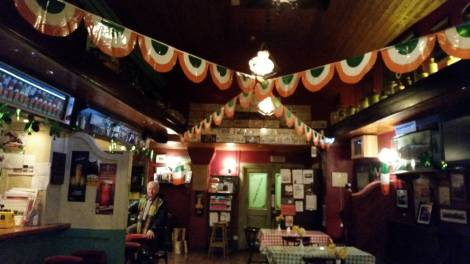 Irish Pub: a relaxing environment to think about our projects