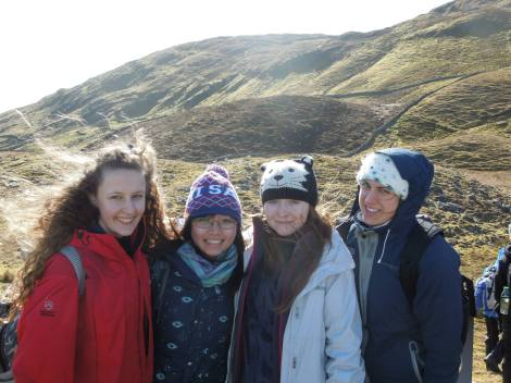 Can you tell it was very cold? It was worthwhile to see the breath-taking landscapes!